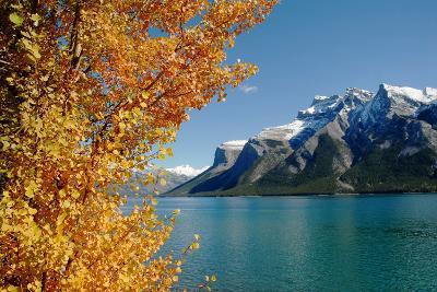 Lake Minnewanka in Autumn,Canadian Rockies,Canada