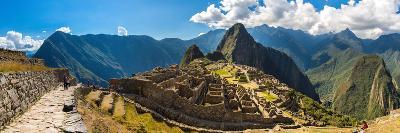 Mysterious City - Machu Picchu, Peru,South America. the Incan Ruins. Example of Polygonal Masonry A