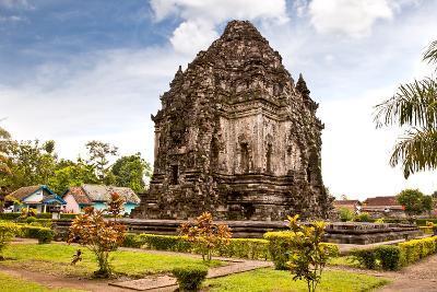 Candi Kalasan Buddhist Temple in Prambanan Valley on Java. Indonesia. Built around 778 A.D. it Supp