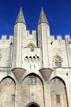 Popes Palace in Avigon, France
