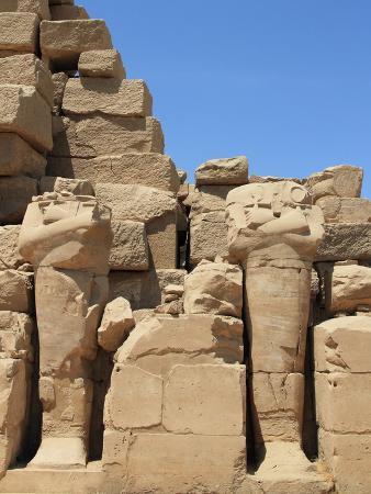 Beheaded Statues of Karnak Temple, Egypt