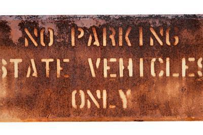 School Parking Sign