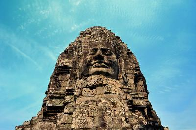 Face in Bayon Temple Cambodia