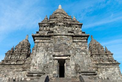 Candi Sewu Buddhist Complex in Java, Indonesia