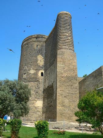 Maiden Tower in the Old City. Baku. Azerbaijan.