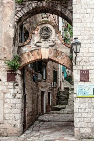 Narrow Street in Kotor, Montenegro