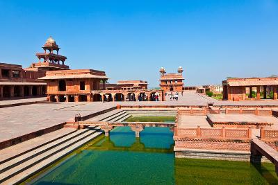 Fatehpur Sikri, India. it is A City in Agra District in India. it Was Built by the Great Mughal Emp