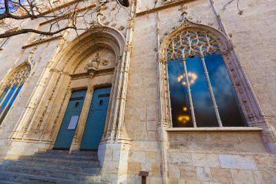 Valencia La Lonja Gothic Facade UNESCO Heritage in Spain