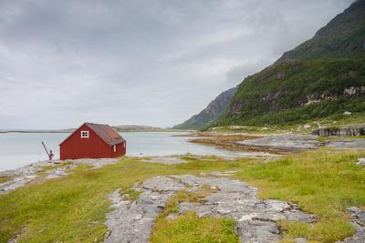 Seaside Building in Northern Norway