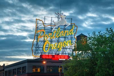 Famous Old Town Portland, Oregon Neon Sign