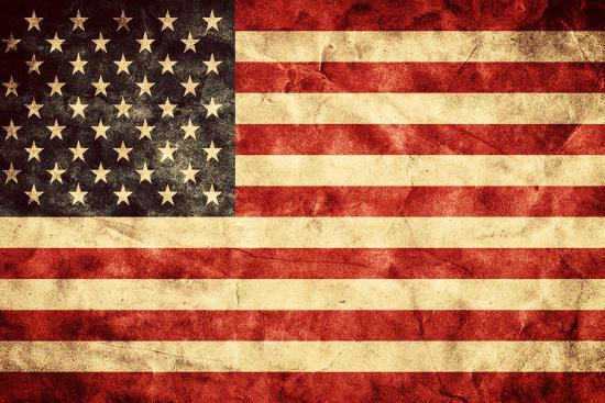 Usa Grunge Flag Vintage Retro Style High Resolution Hd