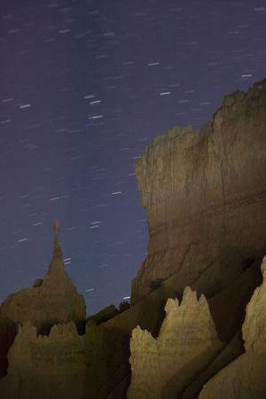 Bryce Canyon National Park at Night, with Starry Clear Sky