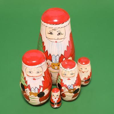 Santa Clause Russian Dolls