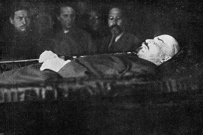 Lenin in Coffin