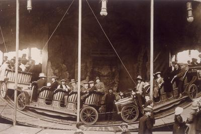 Carousel at Redruth, 1913
