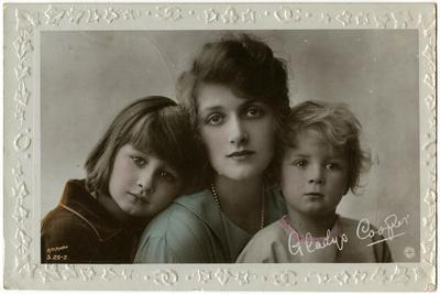 Gladys Cooper and Her Children