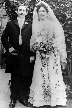 Bride and Groom 1890S
