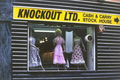 'Knockout' Shop Display