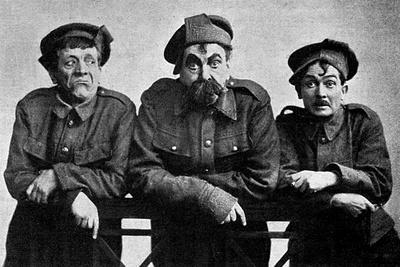 The Cast of the Better 'Ole - Bruce Bairnsfather Play, WW1