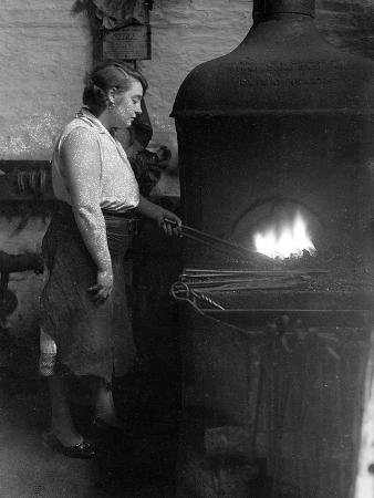 Female Blacksmith