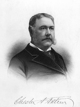 Chester Alan Arthur, President of the United States