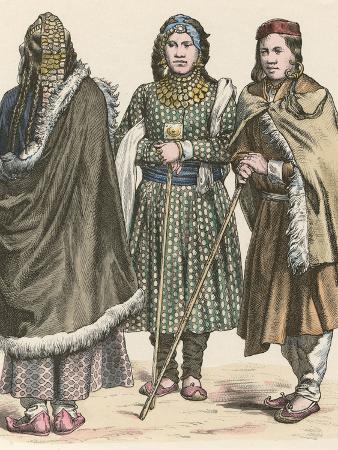 Racial, Tibet, Women 19C