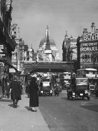 Ludgate Circus 1930S