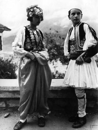 Albanian Racial Types