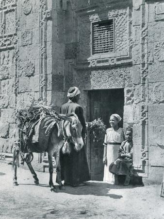 A Herb Merchant in Cairo