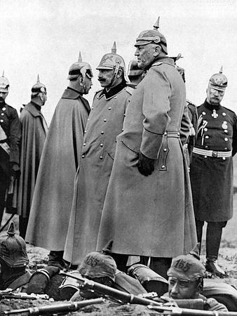 General Moltke and Kaiser Wilhelm II
