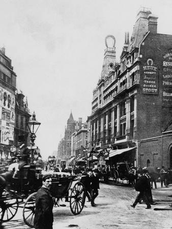 Tottenham Court Road C. 1895