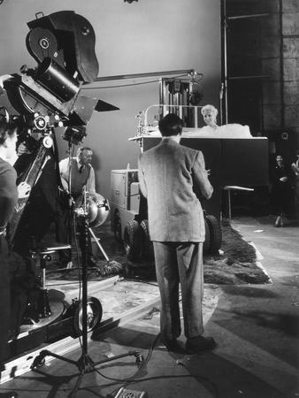 Filming a Tv Advert