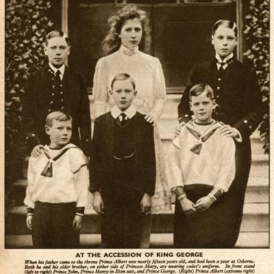 Duke and Duchess of York's Six Children