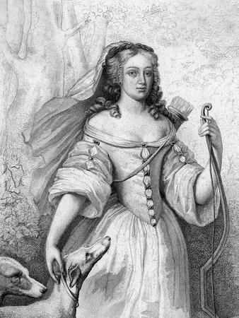 La Valliere as Huntress