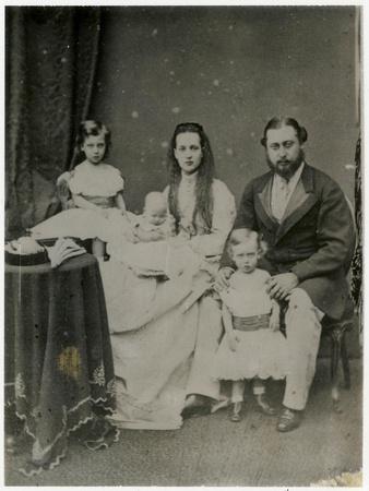 Prince Edward and Alexandra of Denmark's Three Eldest Children