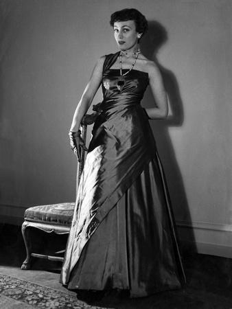 Schiaparelli Gown 1950S