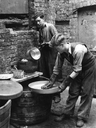 Retinning' Pots and Pans