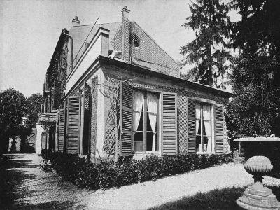 Honore de Balzac's Home, the Villa de Les Jardies, France