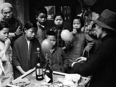 Chinese Balloon Trick