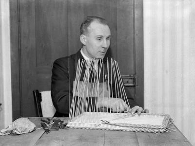 Blind Craftsman 1930s