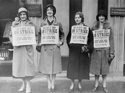 Striking Beauty Workers