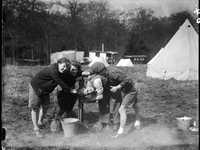 Girls Camping 1930S