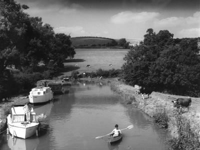 Oxford Canal Scene