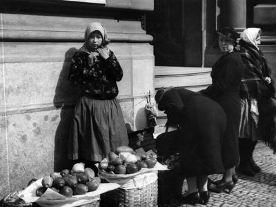 Prague Fruit Seller