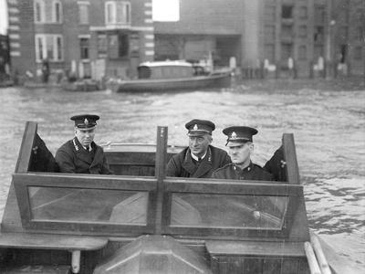 River Police Patrol Boat