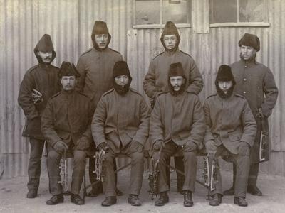 Inniskillings in Winter Uniform