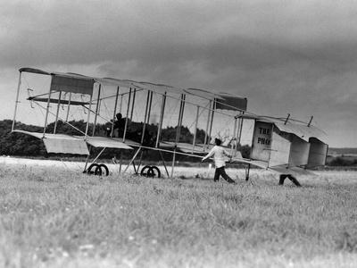 Bleriot Box Kite Biplane