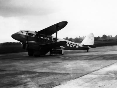 DH Dragon Rapide Plane
