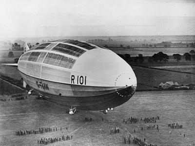 The R101 before Flight