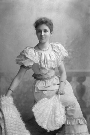 Evening Dress 1890S